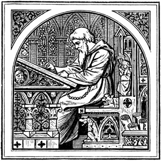 Illustration of a Scribe