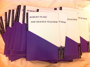 The Silence Teacher by Robert Peake