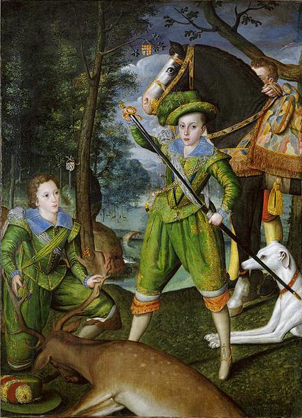 Henry, Prince of Wales by Robert Peake