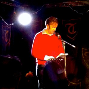 Robert Peake on stage