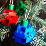 Simple LEGO® Christmas Ornaments