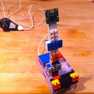 Raspberry Pi Camera with LEGO armature